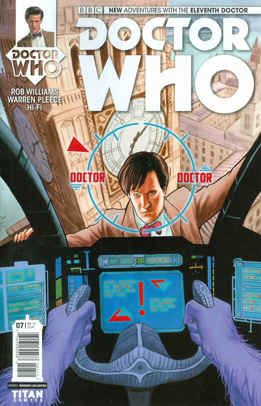 Doctor Who 11th Doctor #7 Cover A Regular Mariano Laclaustra Cover