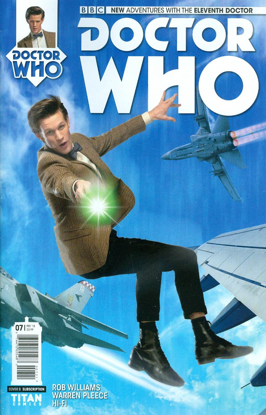 Doctor Who 11th Doctor #7 Cover B Variant Photo Subscription Cover