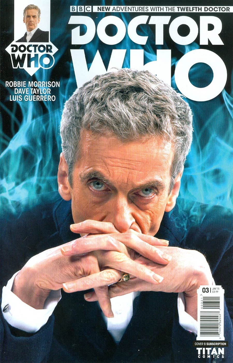 Doctor Who 12th Doctor #3 Cover B Variant Photo Subscription Cover
