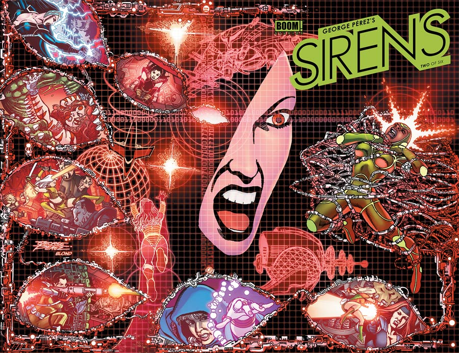 George Perezs Sirens #2 Cover A Regular George Perez Wraparound Cover