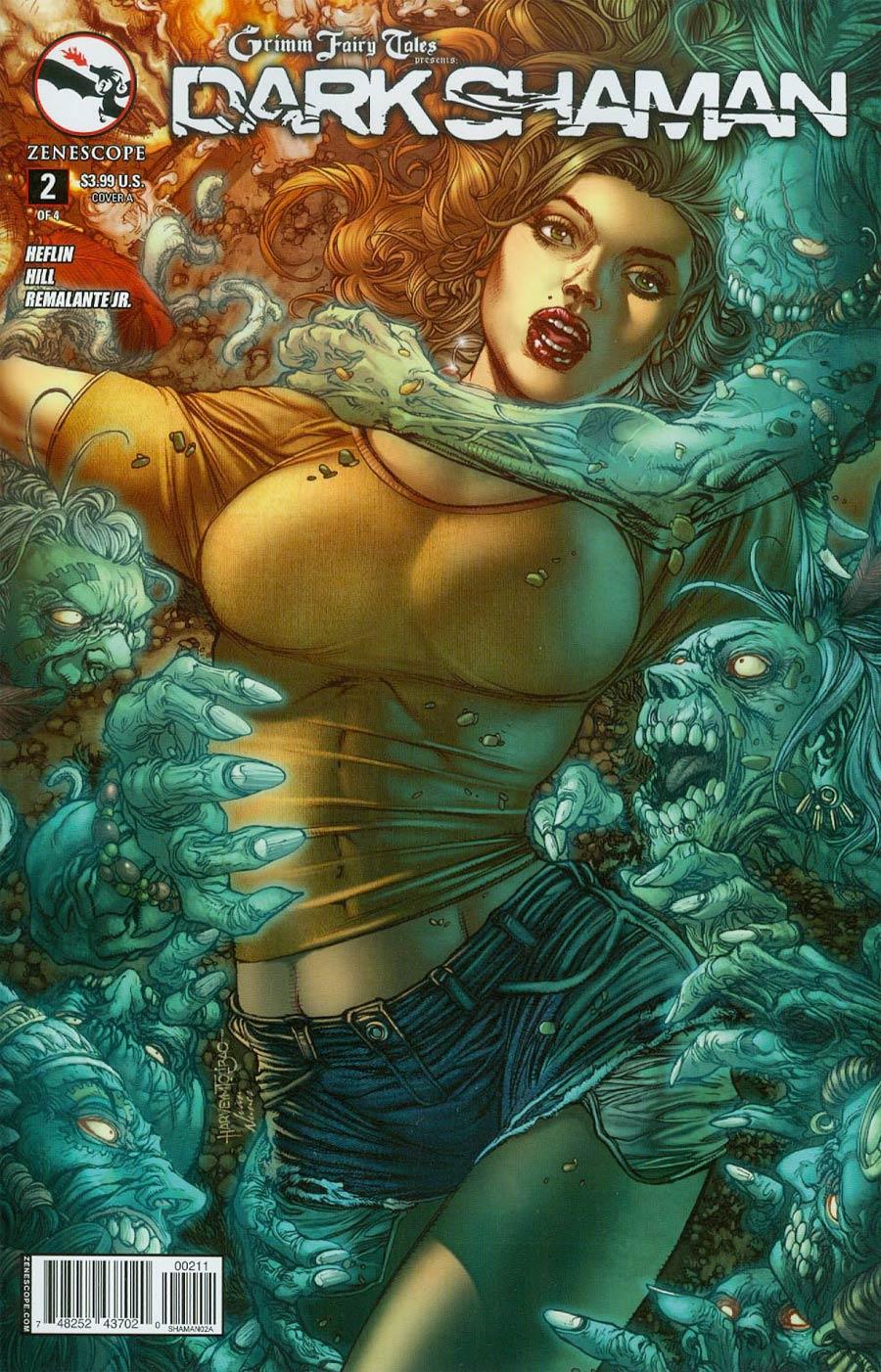 Grimm Fairy Tales Presents Dark Shaman #2 Cover A Regular Harvey Tolibao Cover