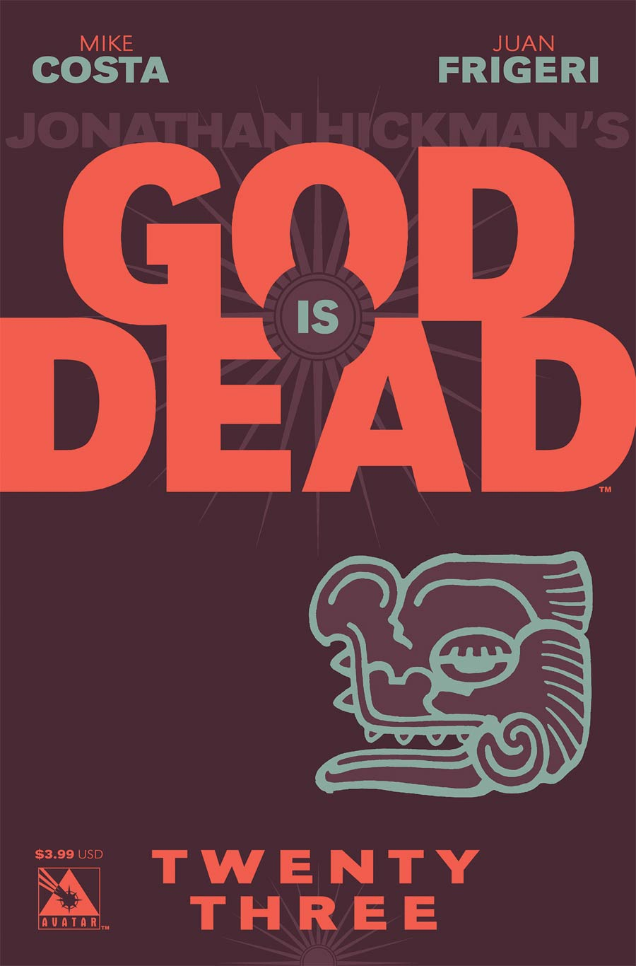 God Is Dead #23 Cover A Regular Cover