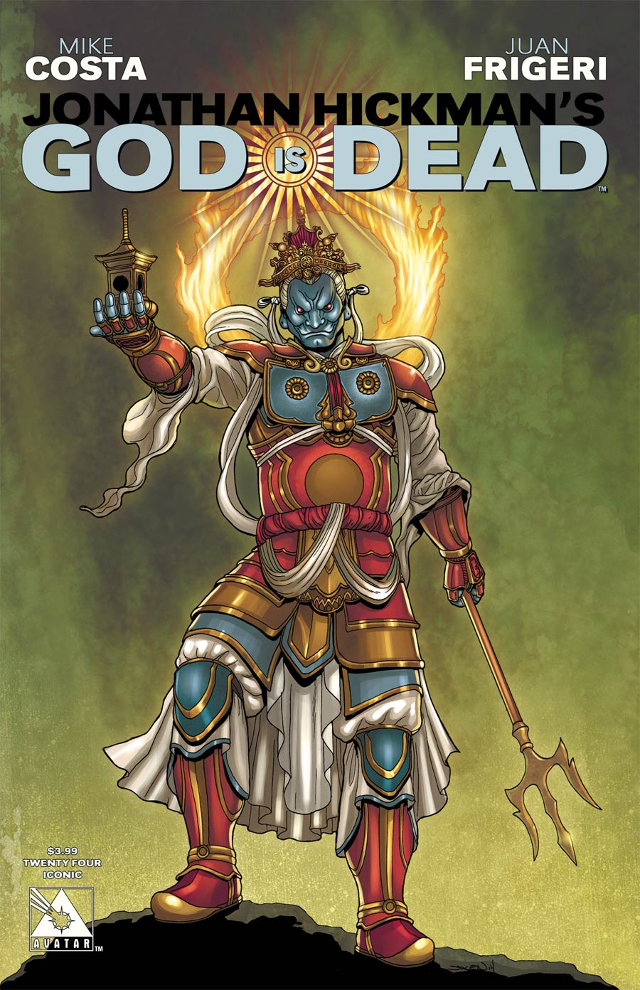 God Is Dead #24 Cover D Iconic Cover