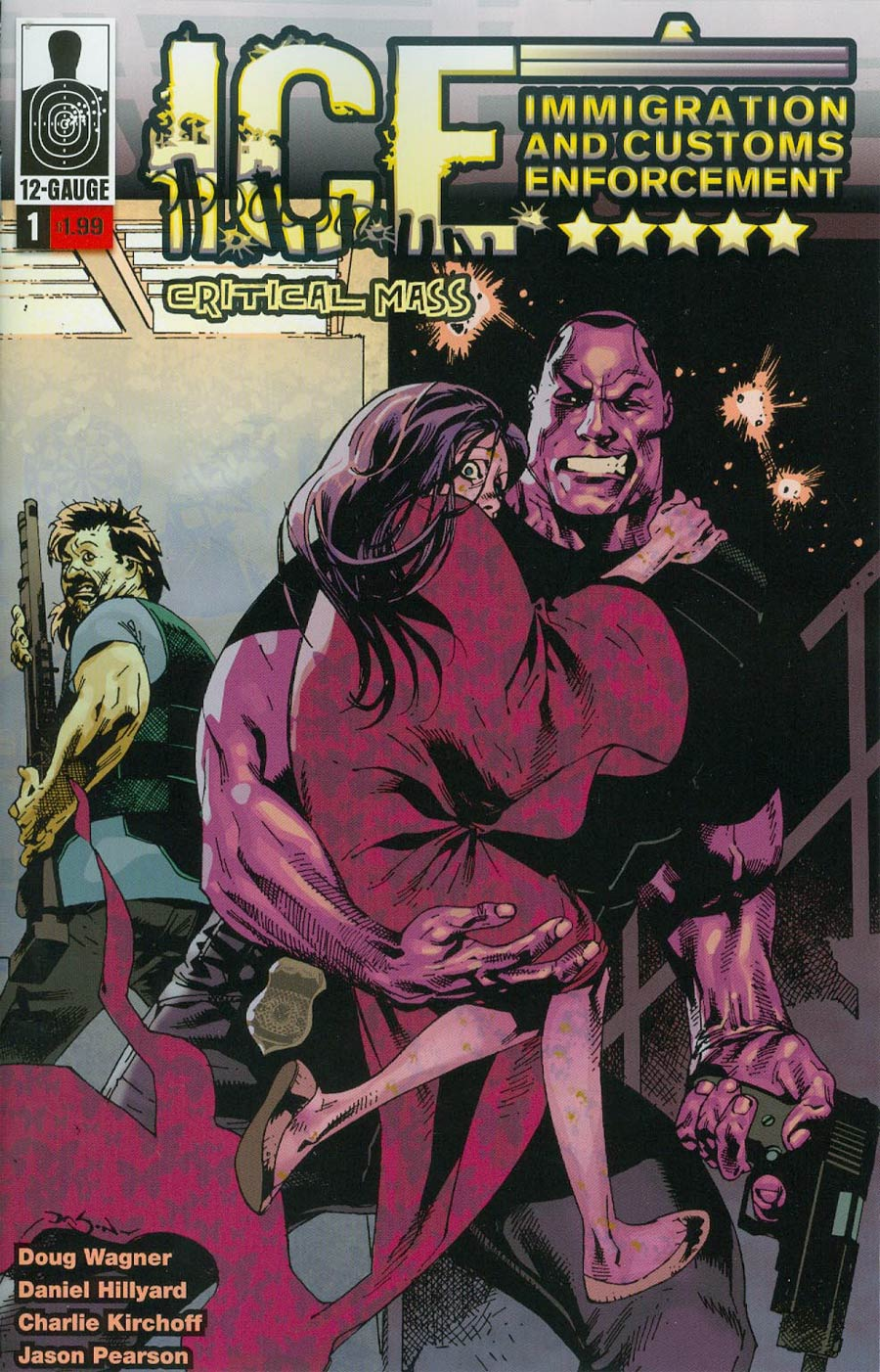 I.C.E. Critical Mass #1 Cover A Regular Jason Pearson Cover