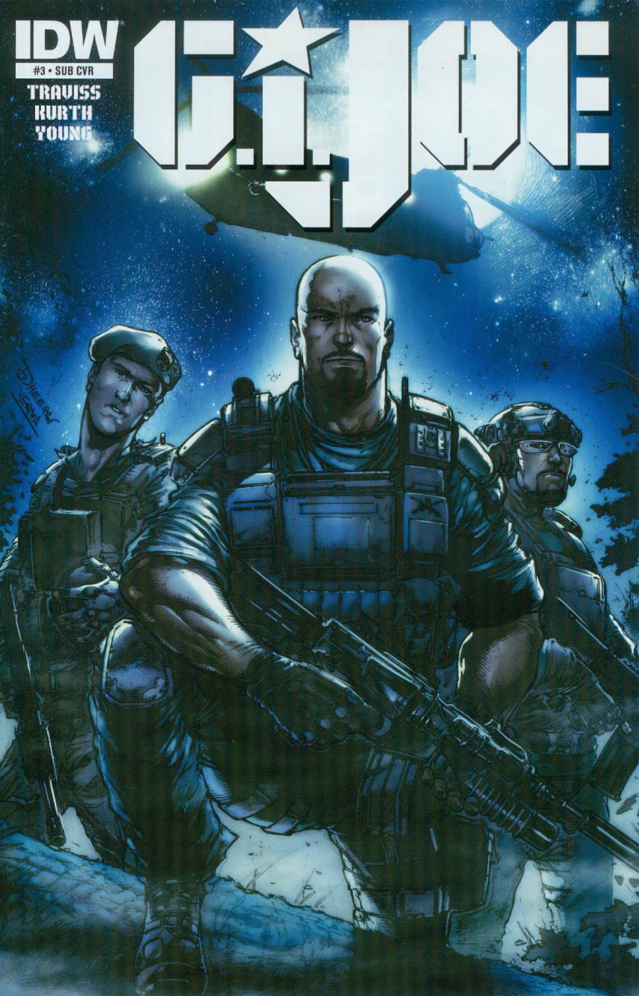 GI Joe Vol 7 #3 Cover B Variant Dheeraj Verma Subscription Cover