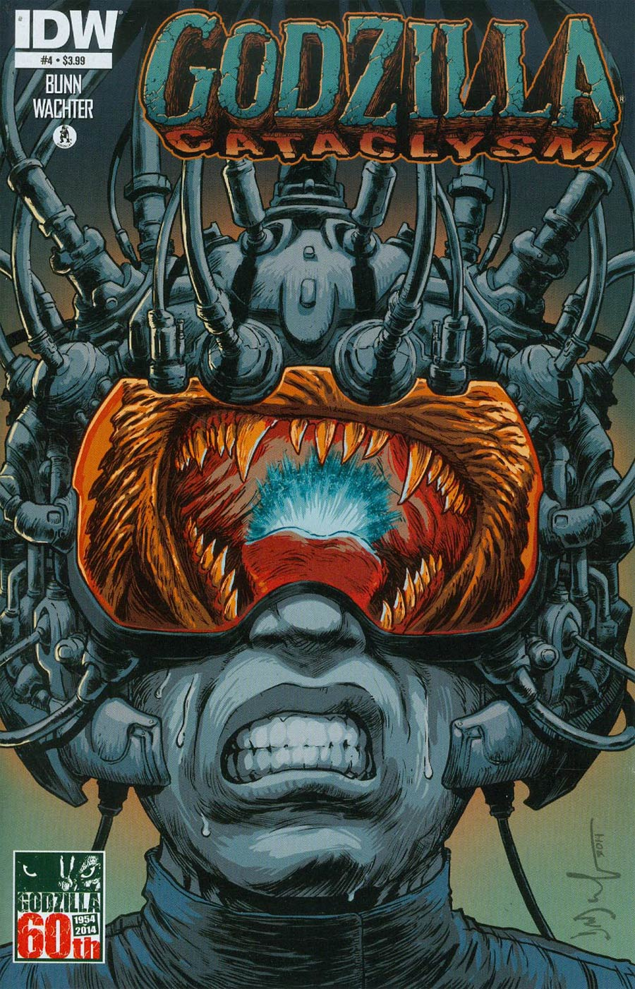 Godzilla Cataclysm #4 Cover A Regular Dave Wachter Cover