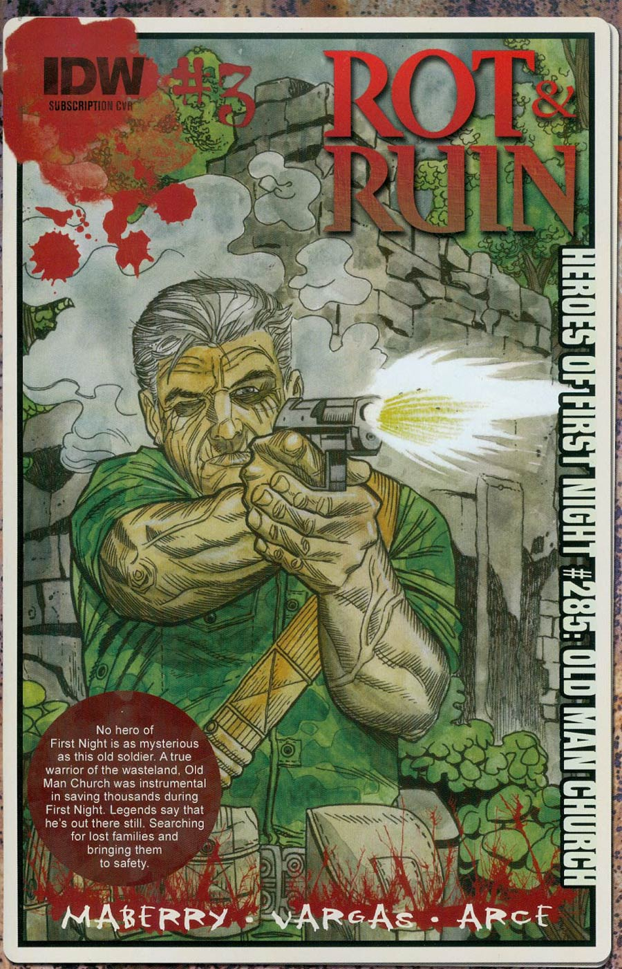 Rot & Ruin #3 Cover B Variant Robert Sacchetto Subscription Cover