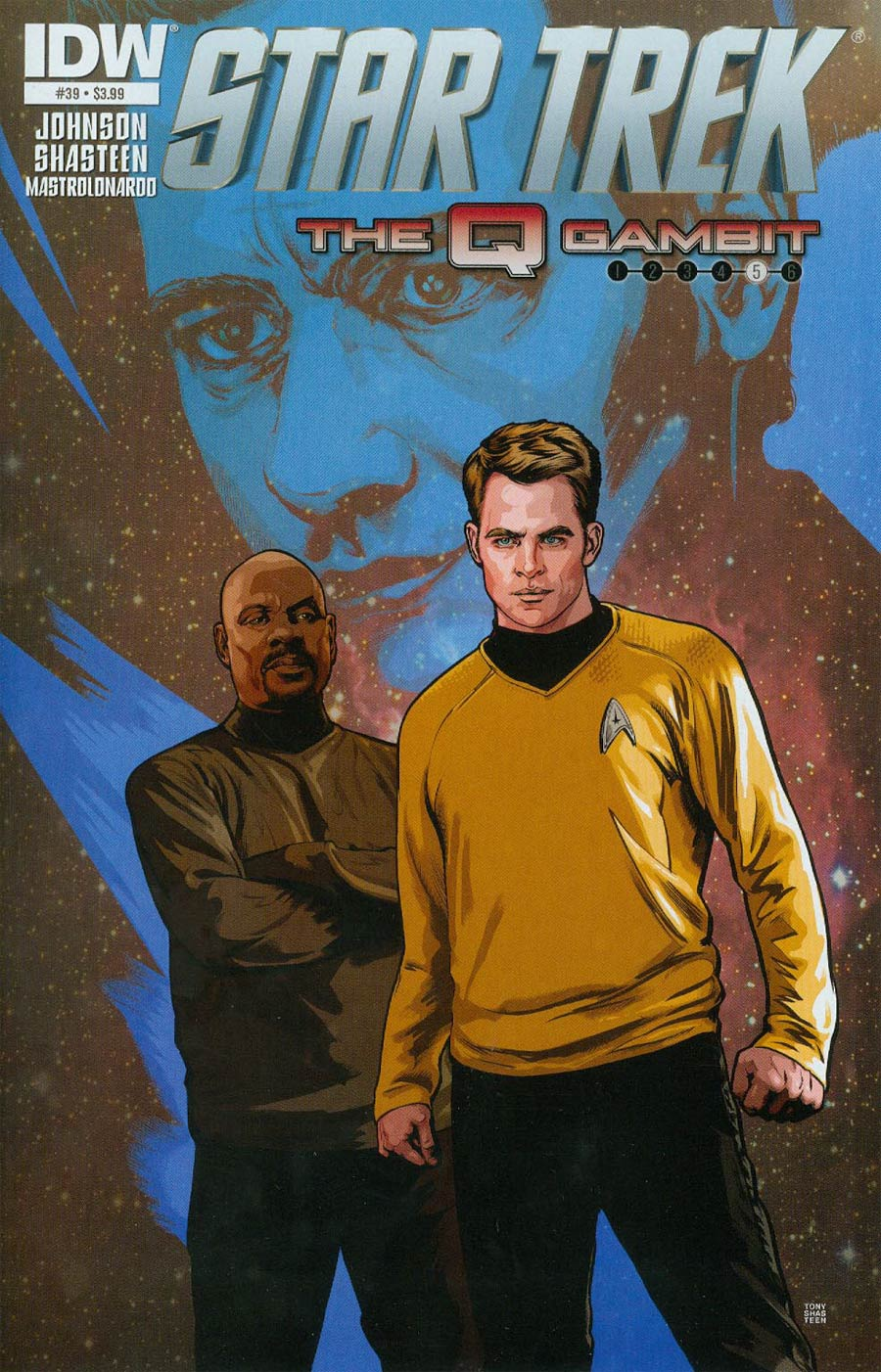 Star Trek (IDW) #39 Cover A Regular Tony Shasteen Cover