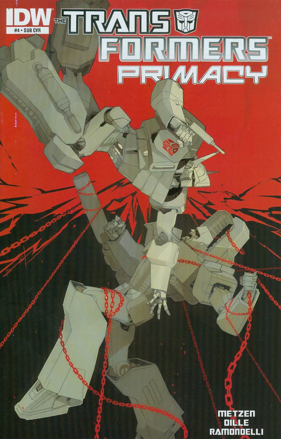 Transformers Primacy #4 Cover B Variant Sarah Stone Subscription Cover