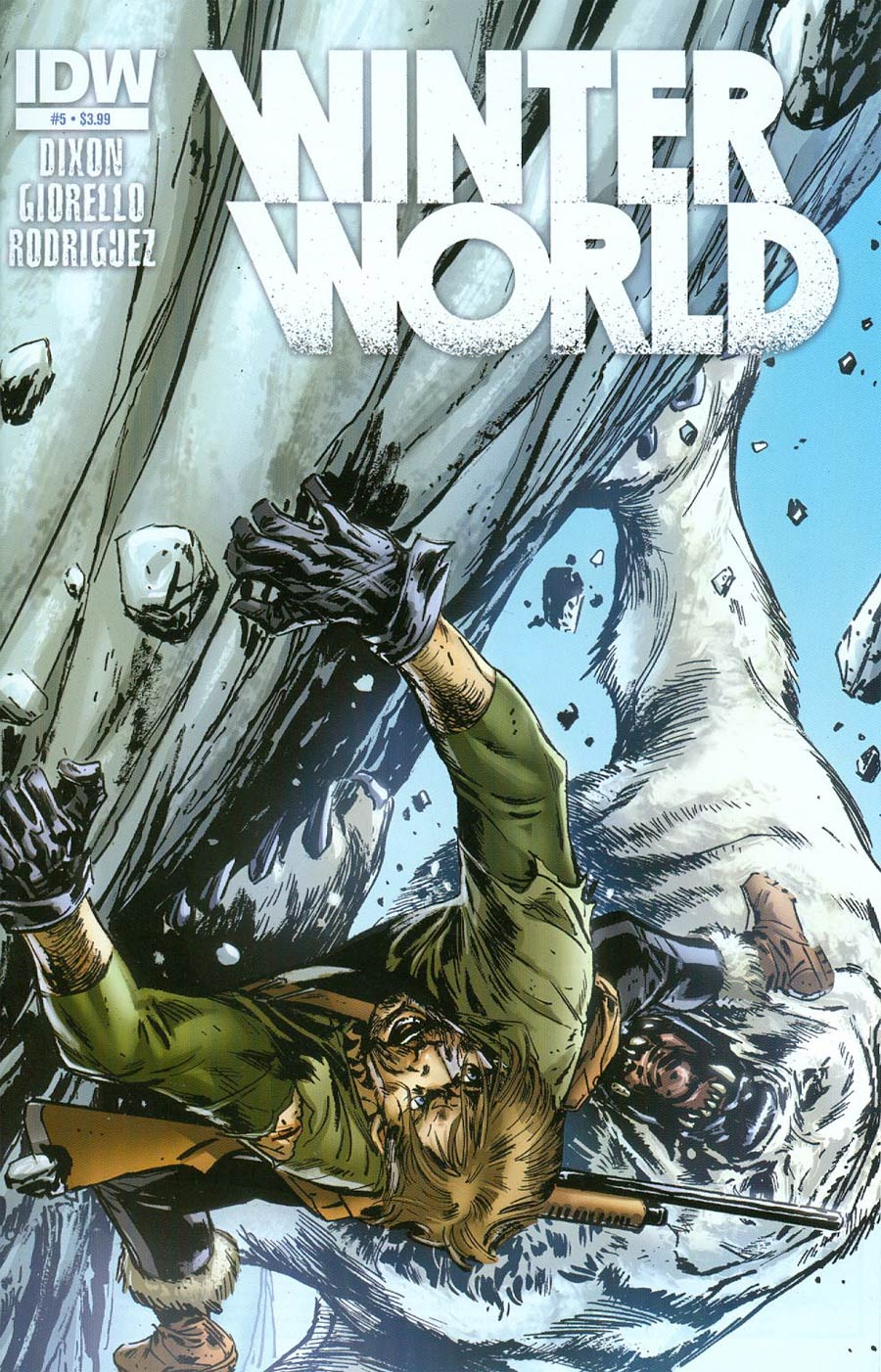 Winterworld Vol 2 #5 Cover A Regular Tomas Giorello Cover