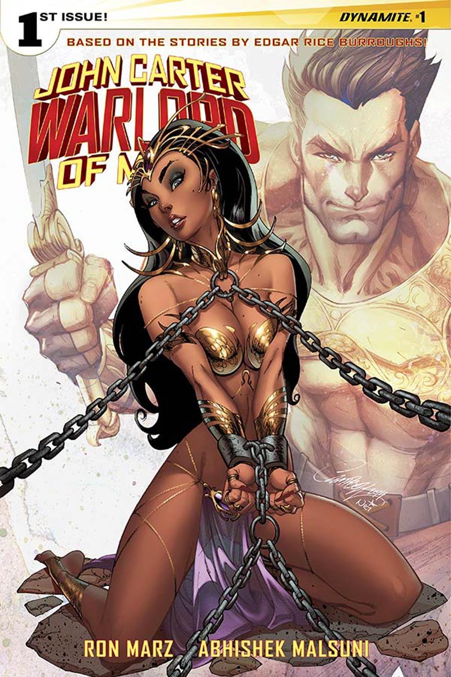 John Carter Warlord Of Mars Vol 2 #1 Cover A Regular J Scott Campbell Cover