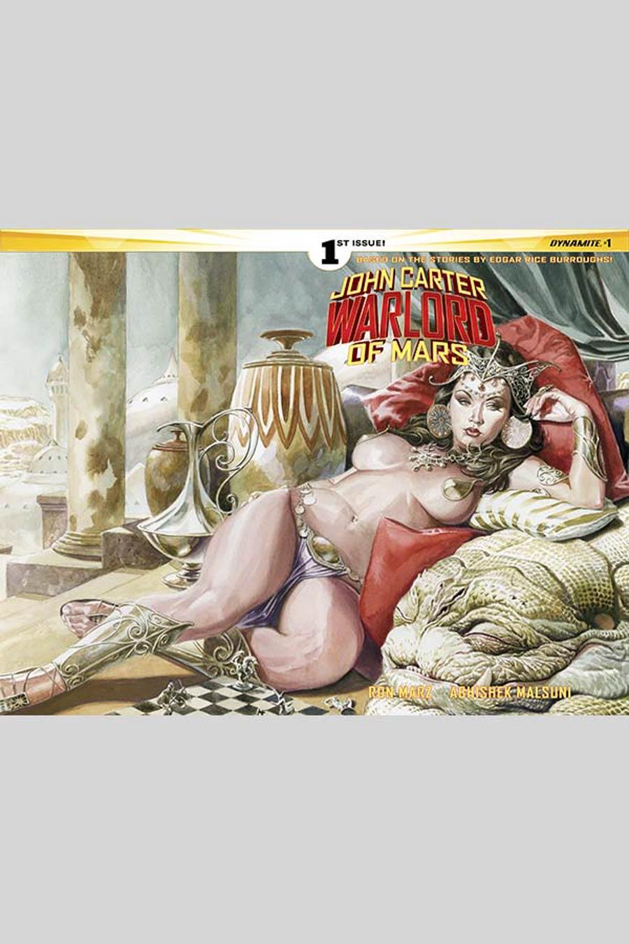 John Carter Warlord Of Mars Vol 2 #1 Cover C Variant JG Jones Wraparound Cover