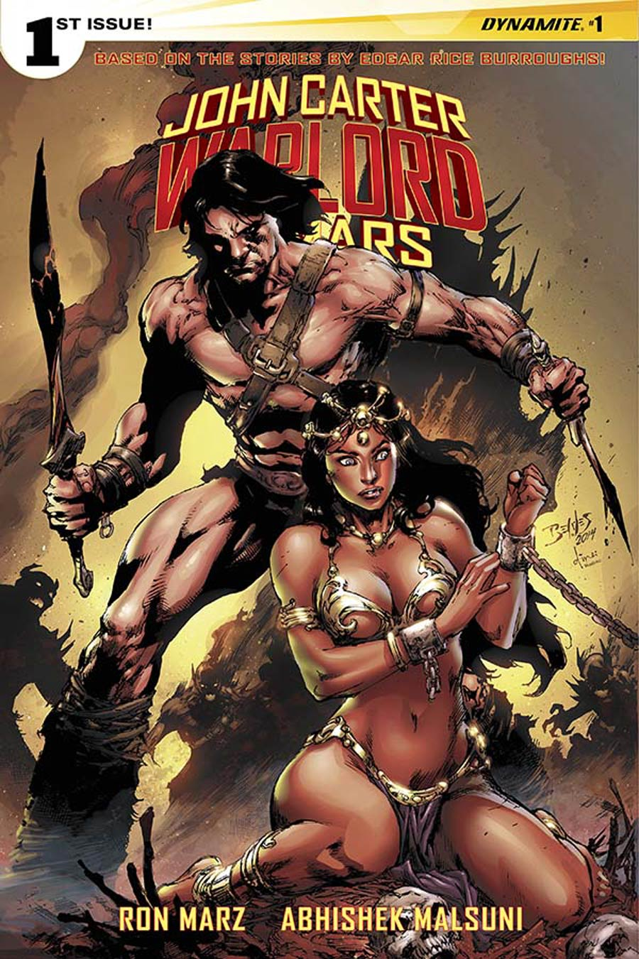 John Carter Warlord Of Mars Vol 2 #1 Cover D Variant Ed Benes Cover