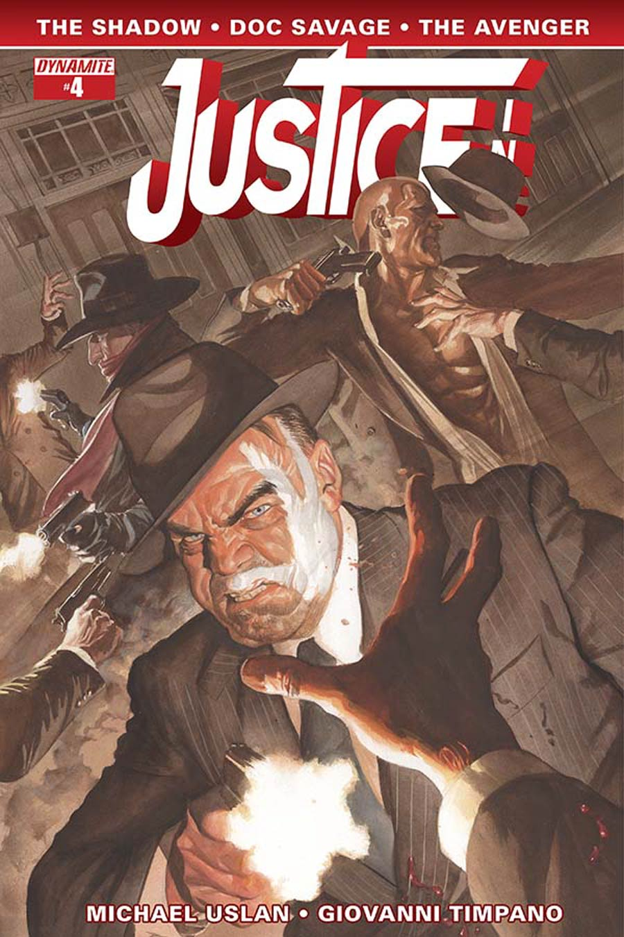 Justice Inc Vol 3 #4 Cover A Regular Alex Ross Cover