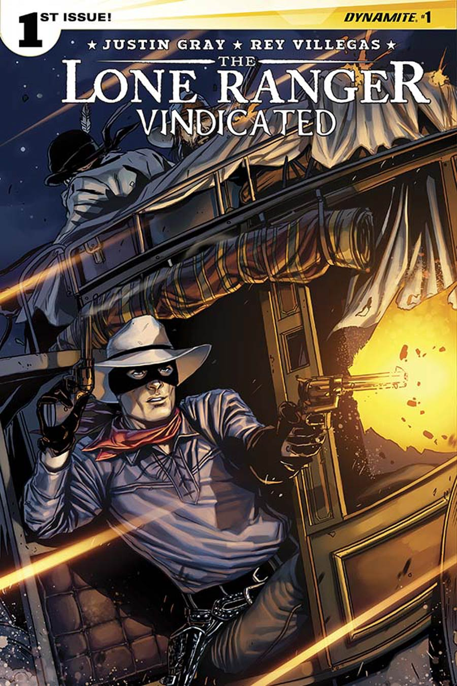 Lone Ranger Vindicated #1 Cover B Variant Marc Laming Subscription Cover