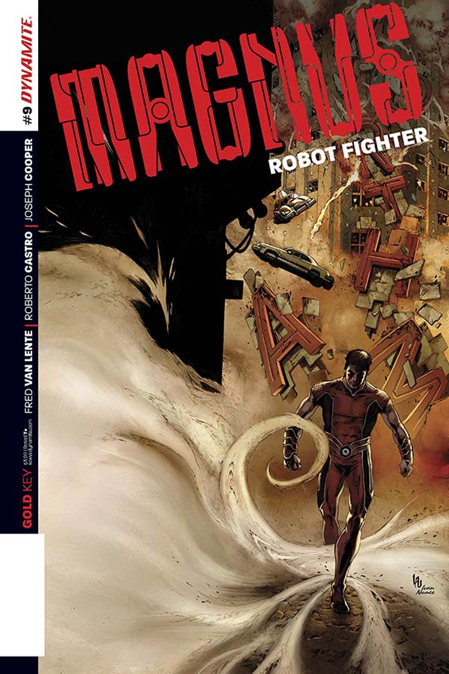 Magnus Robot Fighter Vol 4 #9 Cover A Regular Jonathan Lau Cover