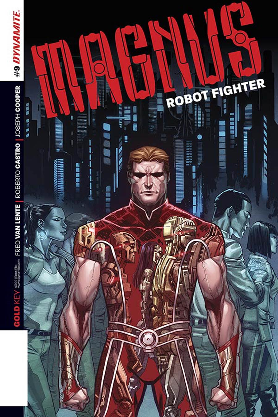Magnus Robot Fighter Vol 4 #9 Cover B Variant Cory Smith Subscription Cover