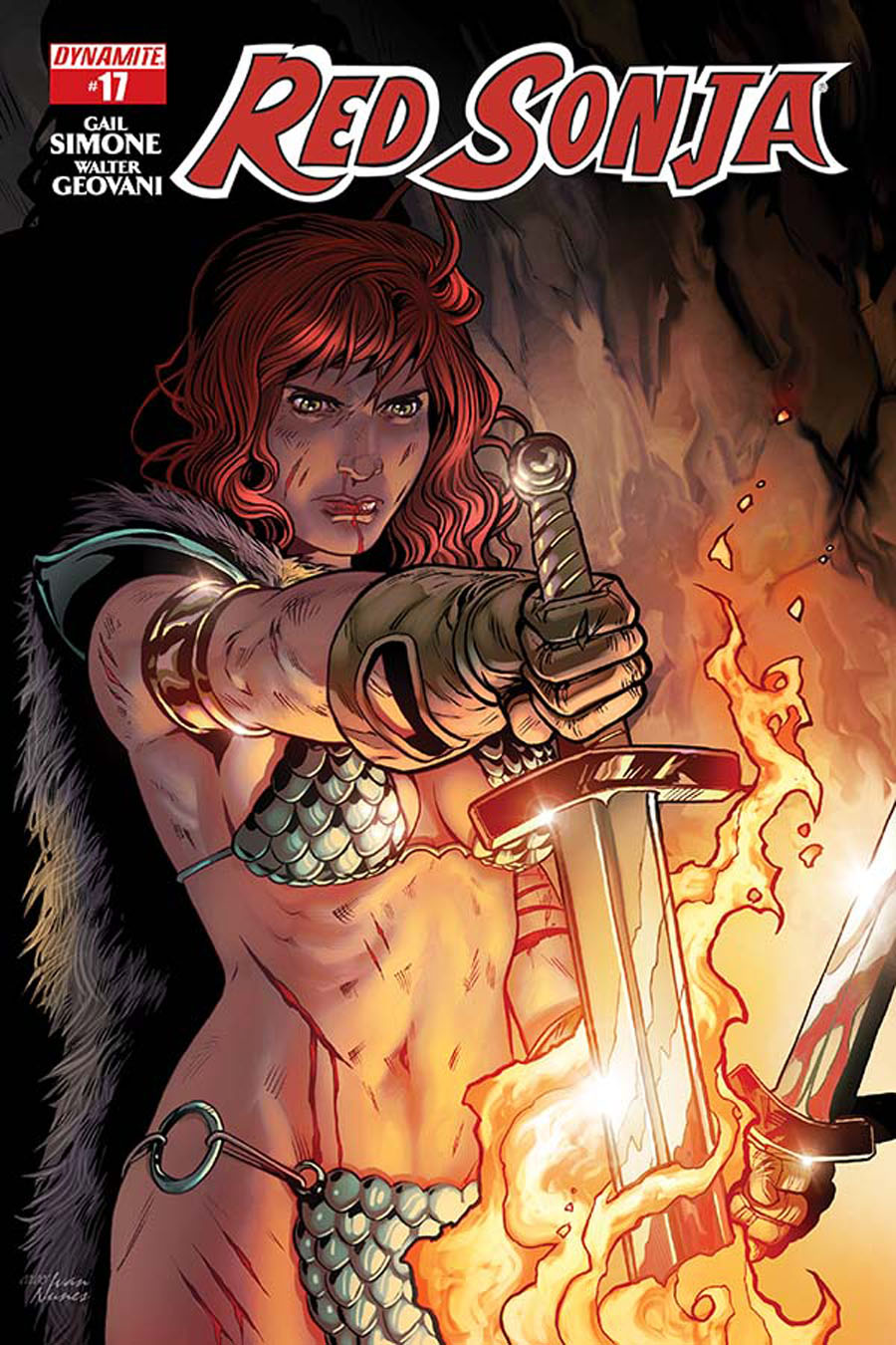 Red Sonja Vol 5 #17 Cover B Variant Rebekah Isaacs Cover