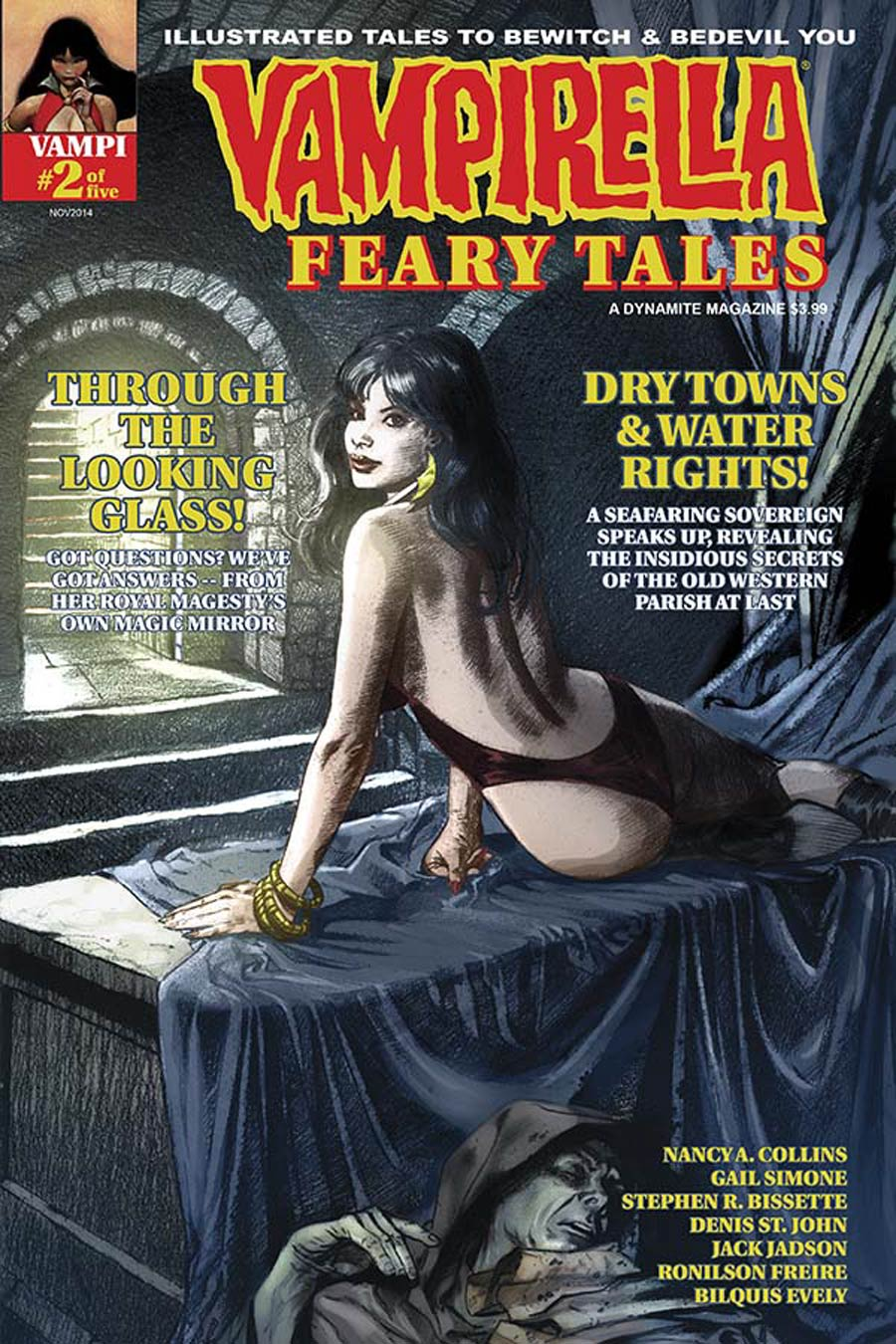 Vampirella Feary Tales #2 Cover C Variant David Roach Warren Years Subscription Cover