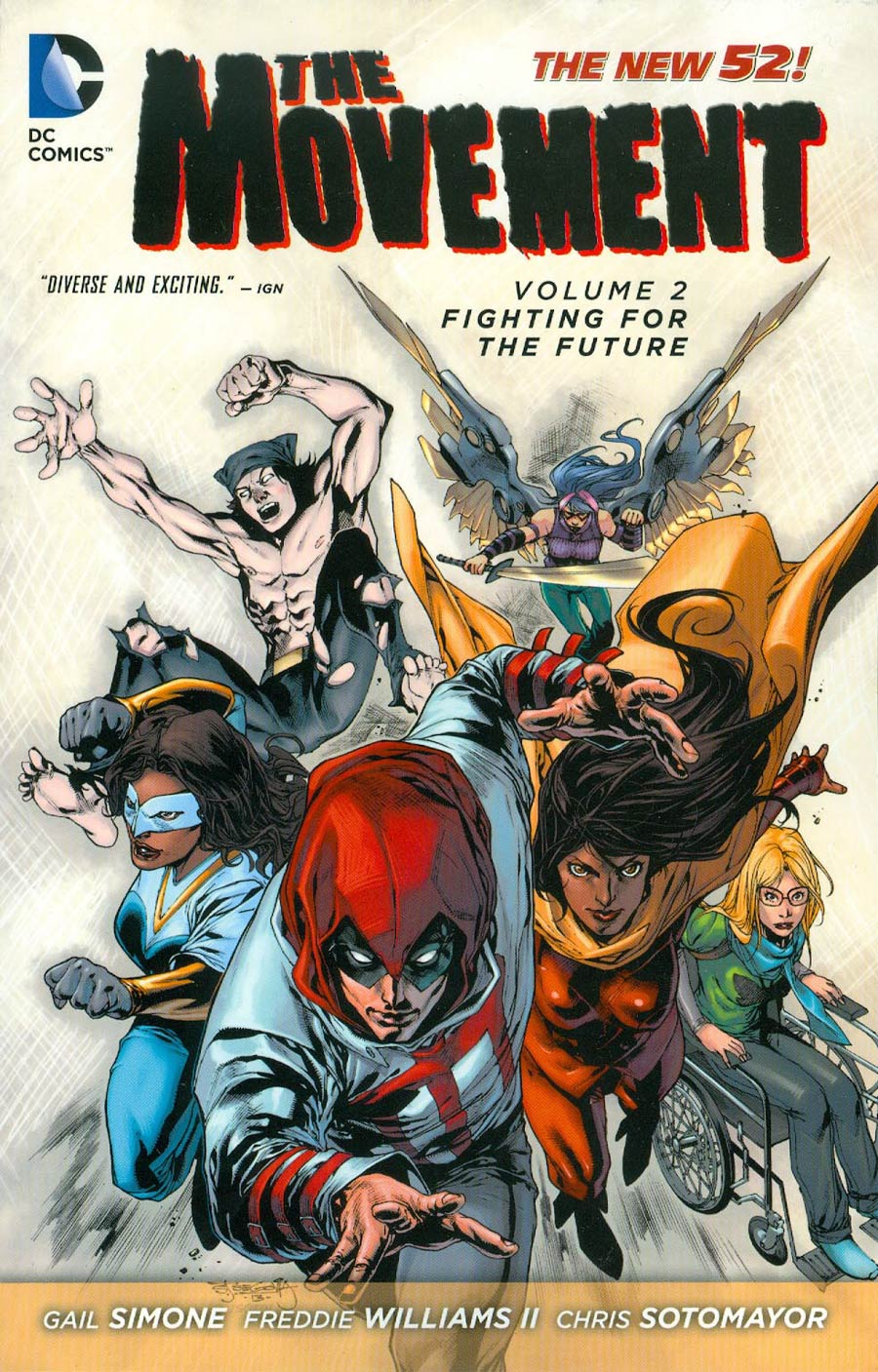 Movement (New 52) Vol 2 Fighting For The Future TP