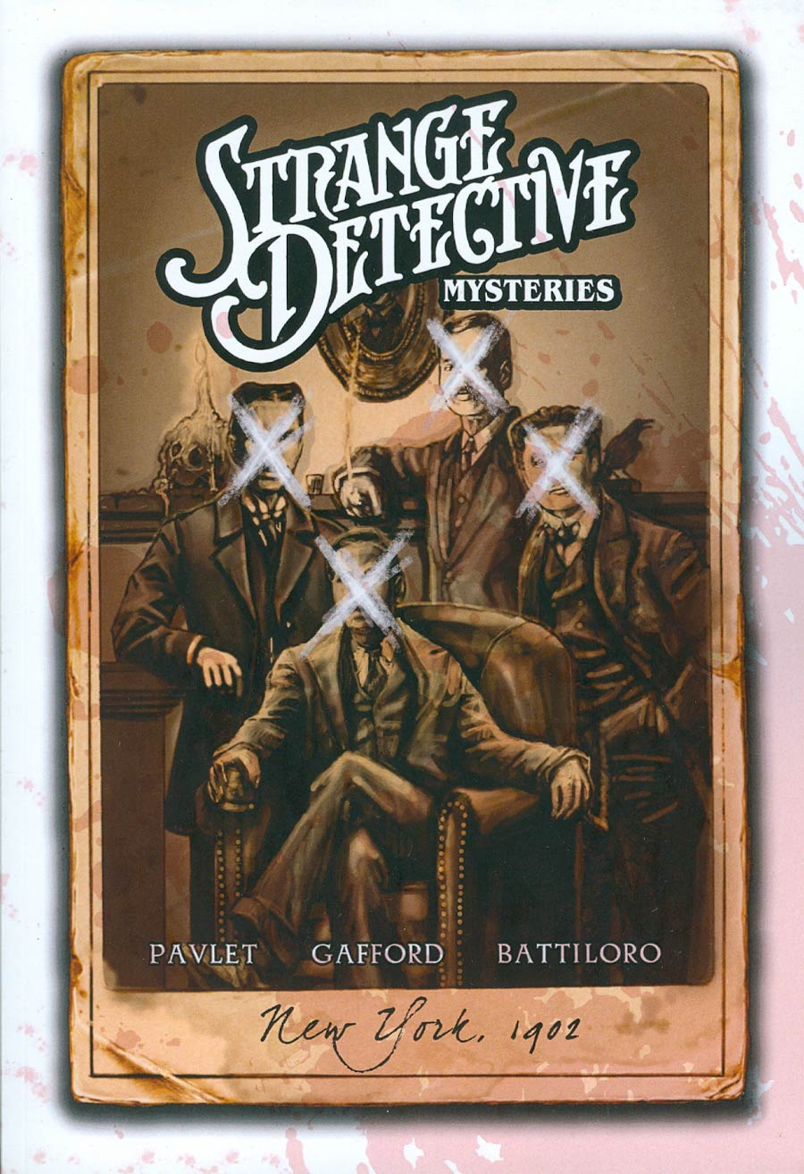 Strange Detective Mysteries GN