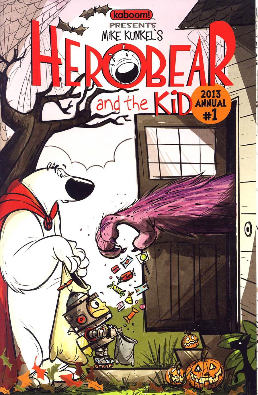 Herobear And The Kid Annual #1 2013 Recall Version