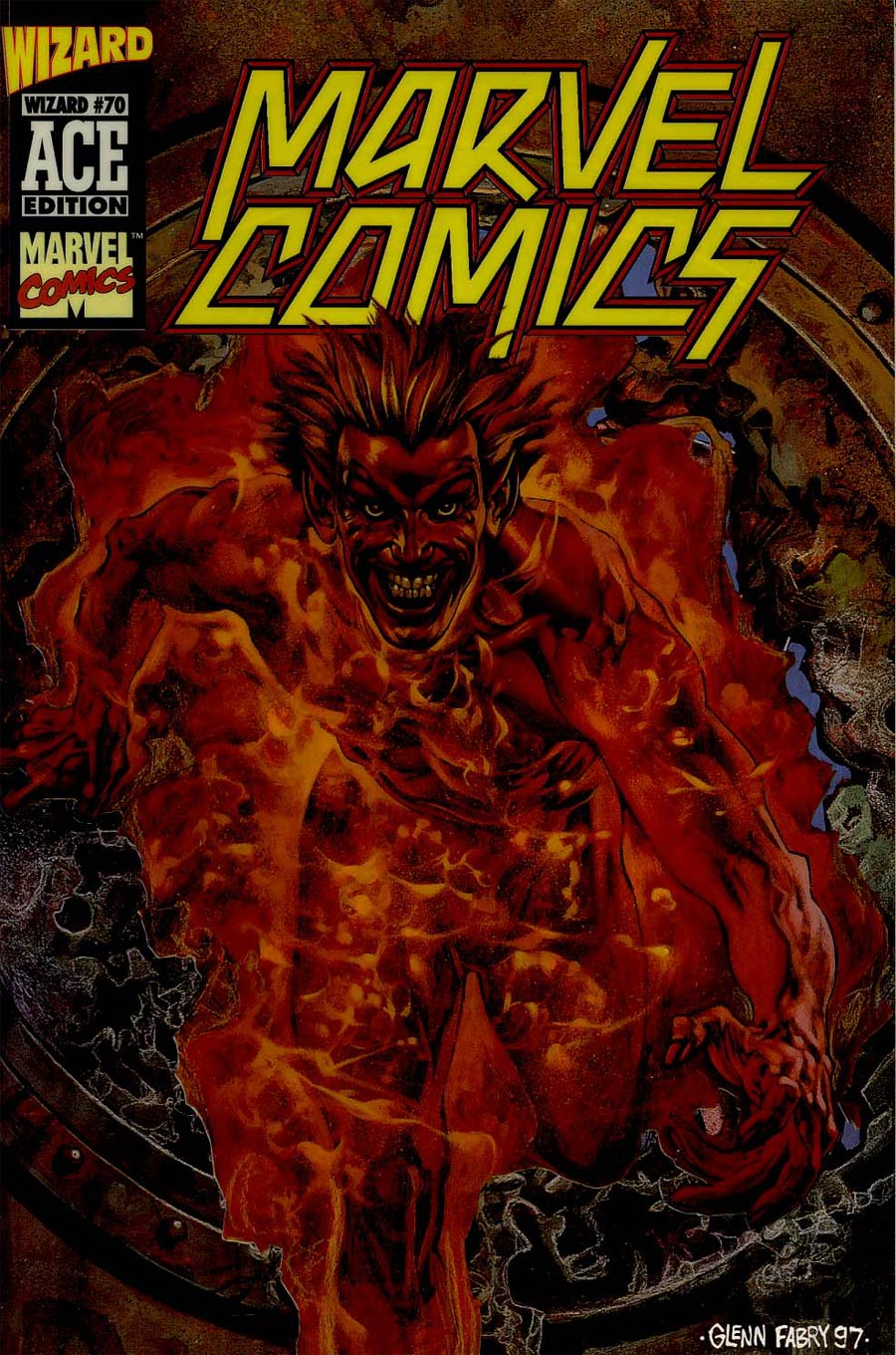 Marvel Comics #1 Cover D Wizard Ace Edition