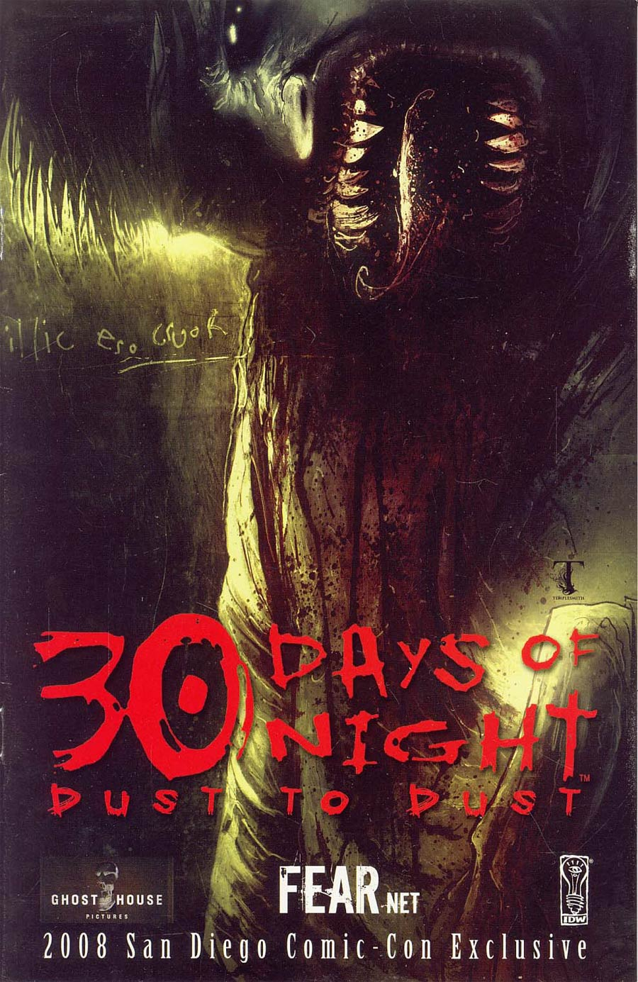 30 Days of Night Dust to Dust SDCC Promo 2008