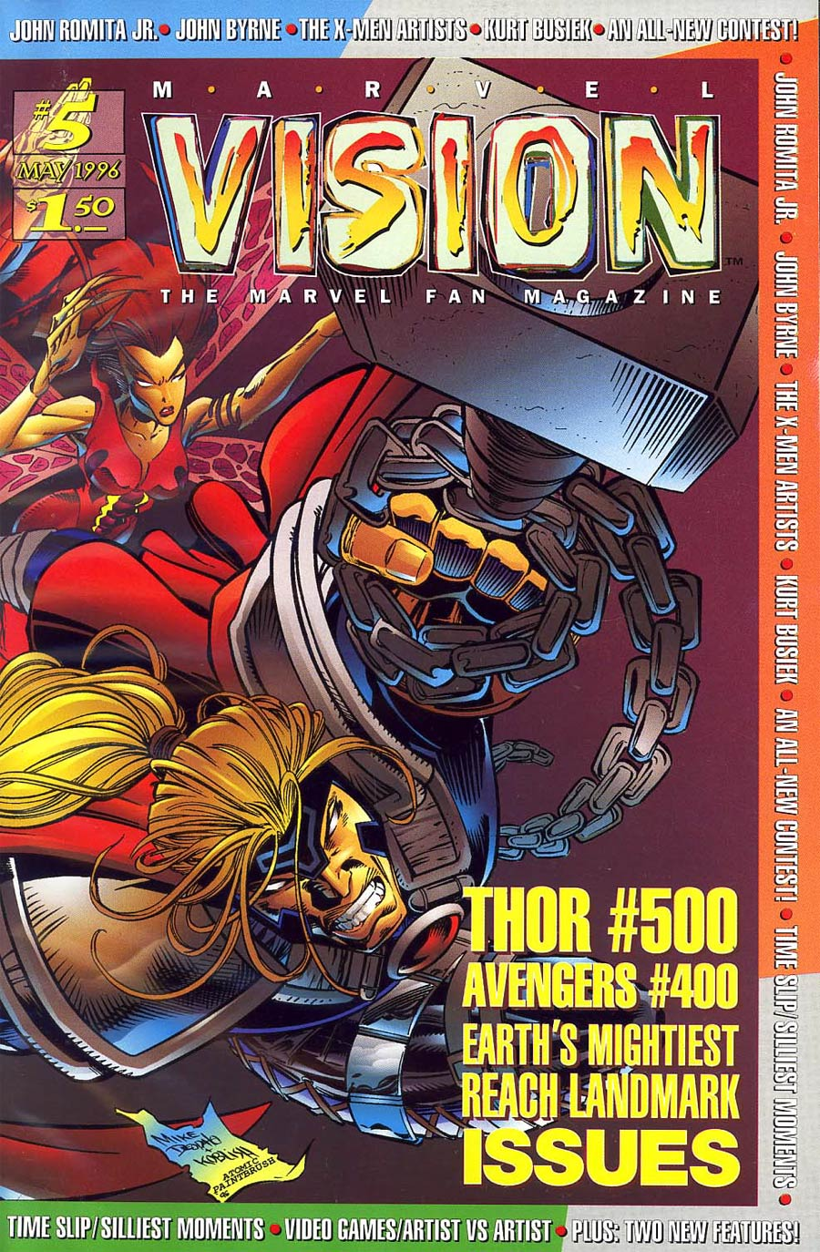 Marvel Vision #5