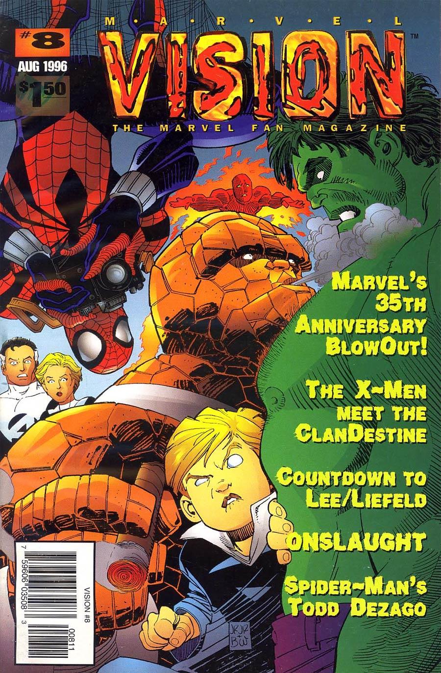 Marvel Vision #8