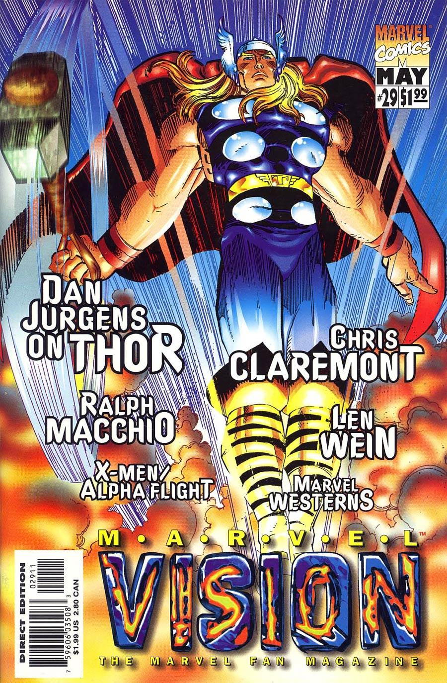 Marvel Vision #29