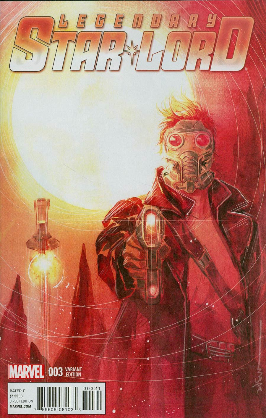 Legendary Star-Lord #3 Cover B Incentive Dustin Nguyen Variant Cover
