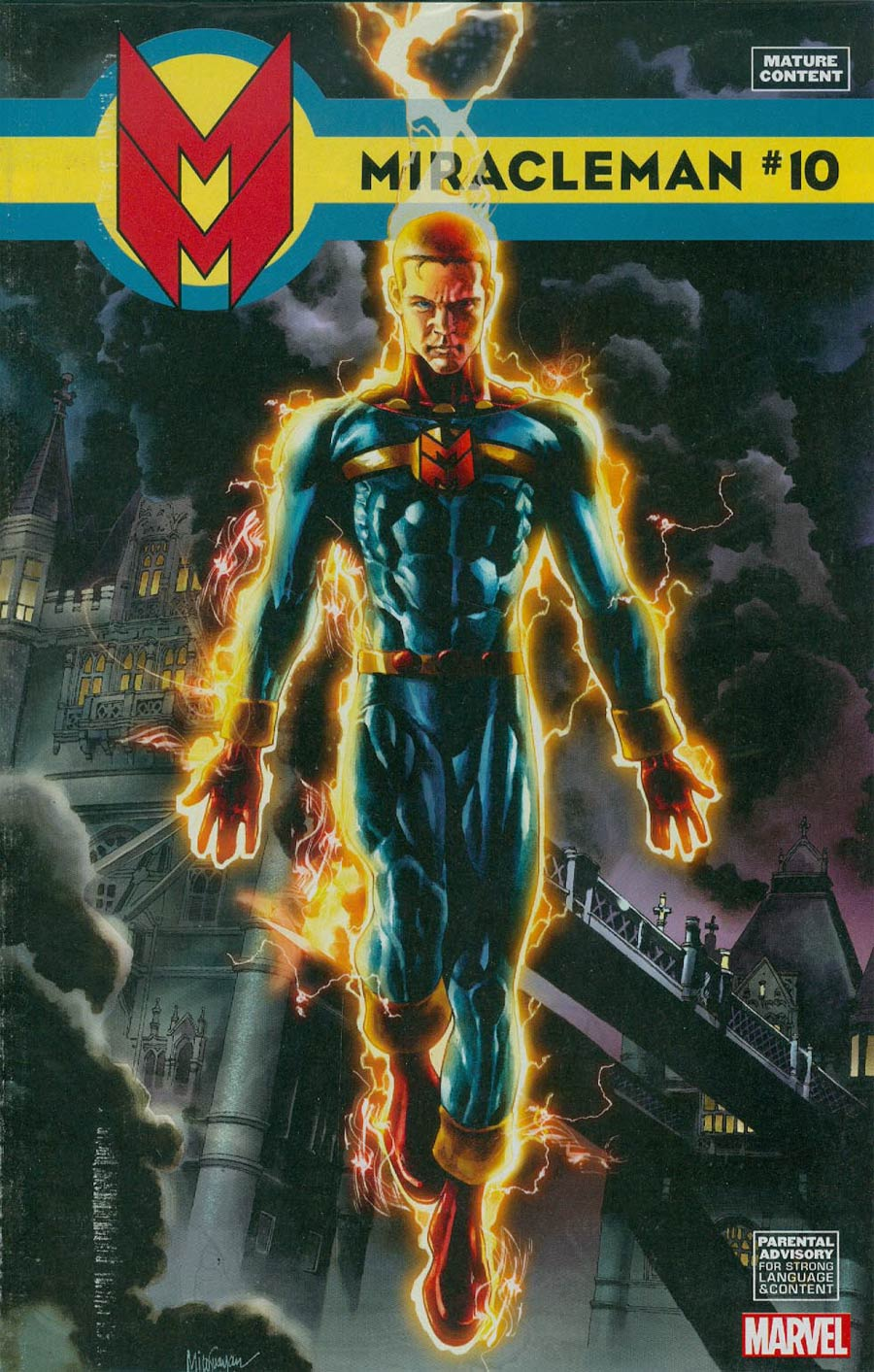 Miracleman (Marvel) #10 Cover B Incentive Mico Suayan Variant Cover With Polybag