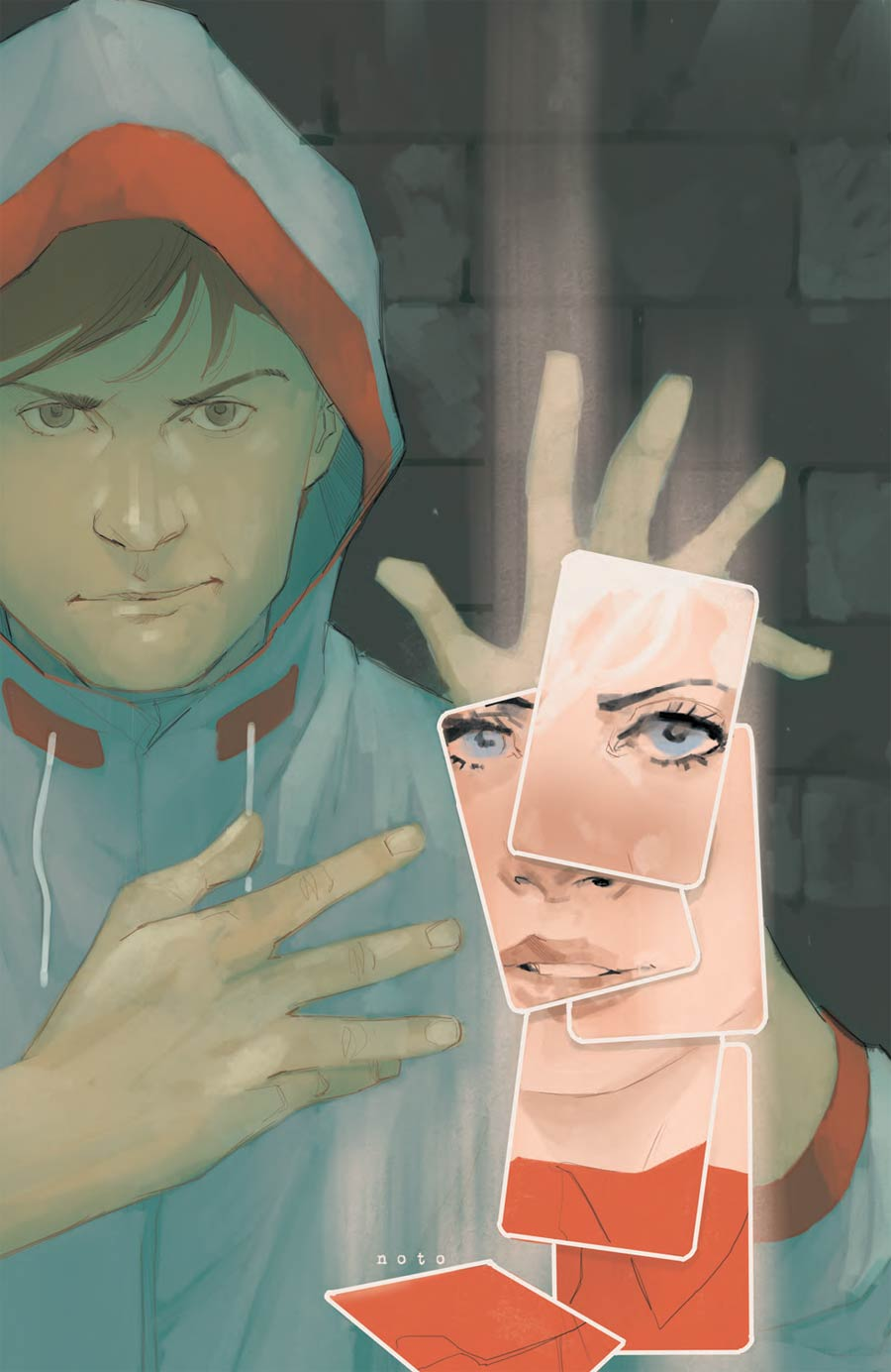Cloaks #1 Cover B Incentive Phil Noto Virgin Variant Cover