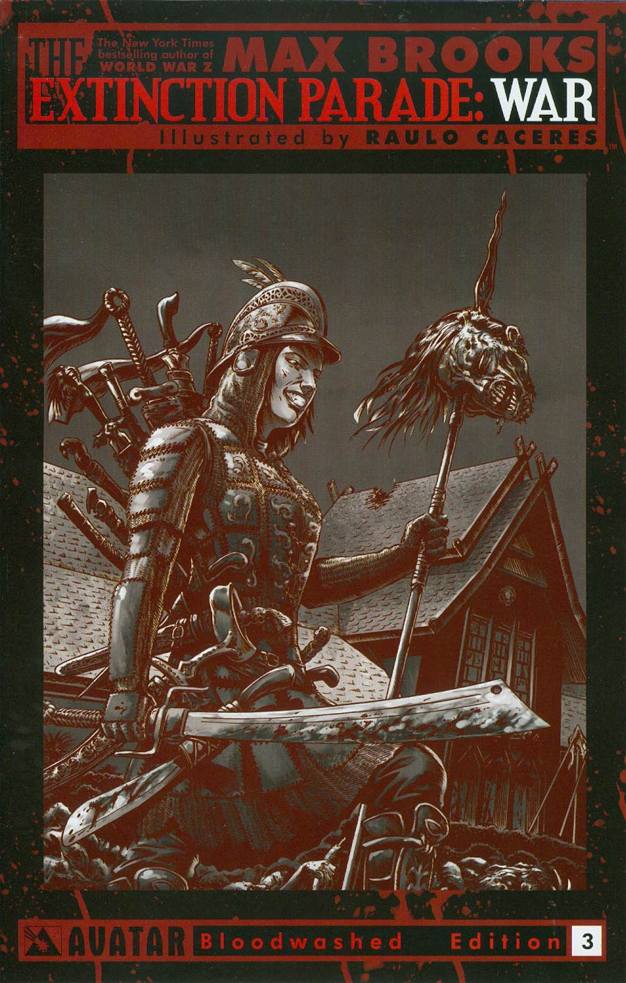 Extinction Parade War #3 Cover E Incentive Bloodwashed Cover