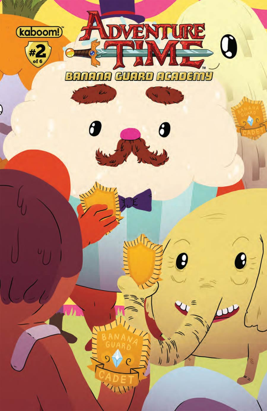 Adventure Time Banana Guard Academy #2 Cover A Regular Aimee Fleck Cover