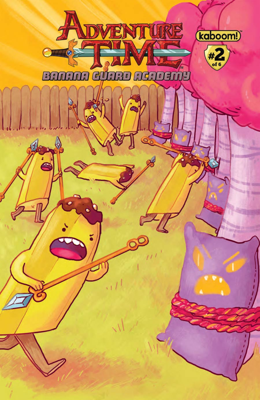 Adventure Time Banana Guard Academy #2 Cover B Regular Kelsey Sunday Cover