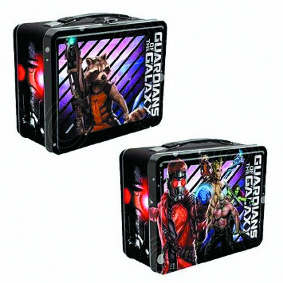 Marvel Guardians Of The Galaxy Large Tin Tote