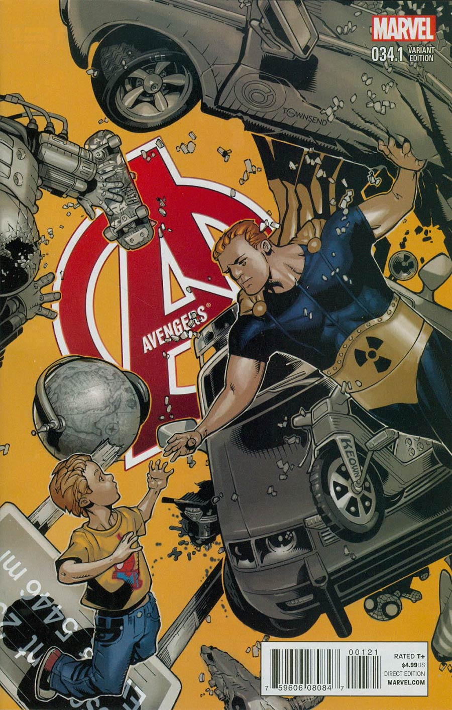 Avengers Vol 5 #34.1 Cover B Incentive Chris Bachalo Variant Cover