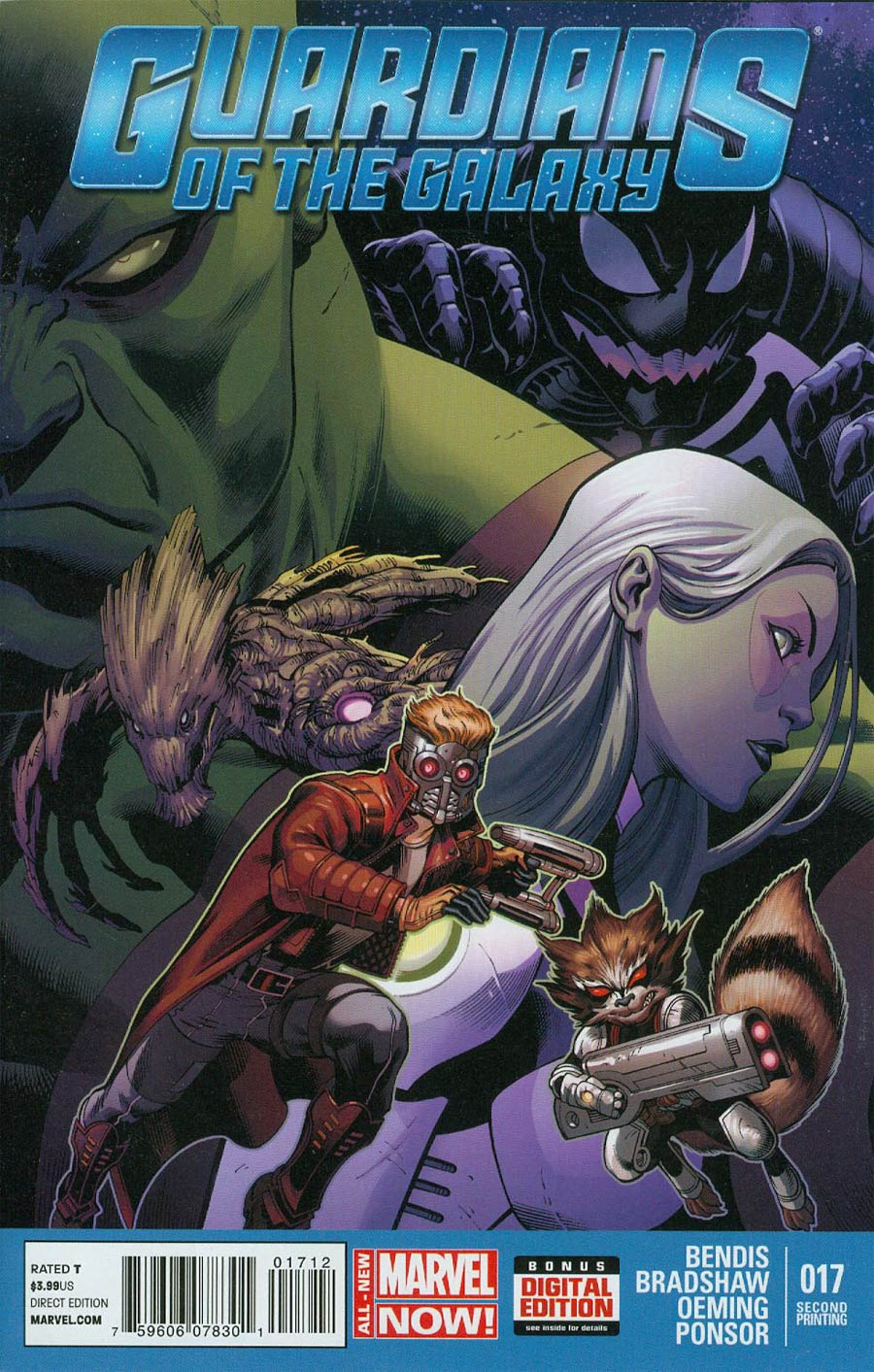 Guardians Of The Galaxy Vol 3 #17 Cover C 2nd Ptg Ed McGuinness Variant Cover