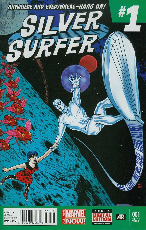 Silver Surfer Vol 6 #1 Cover G 3rd Ptg Michael Allred Variant Cover