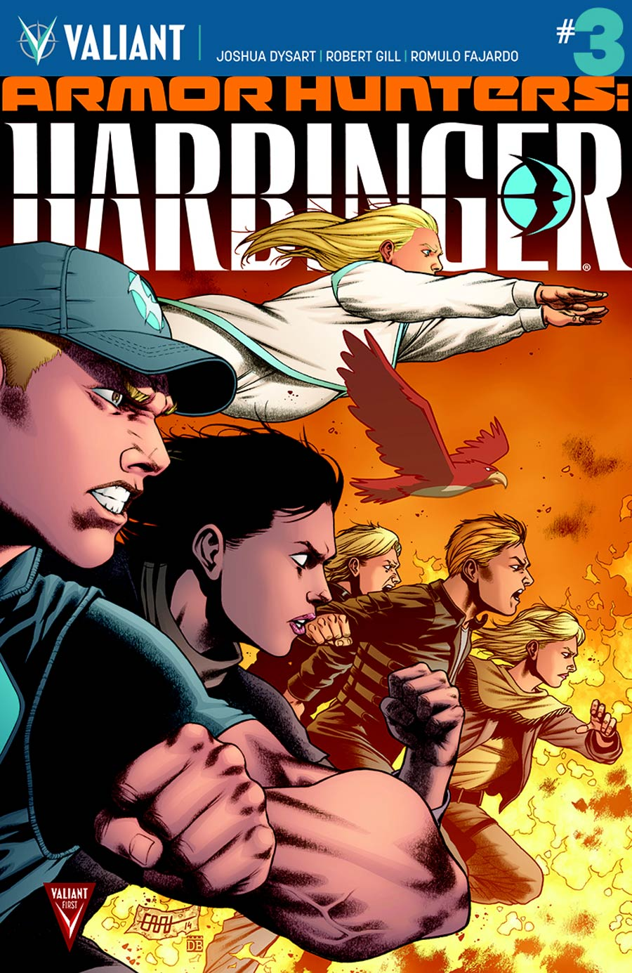 Armor Hunters Harbinger #3 Cover C Incentive CAFU Variant Cover (Armor Hunters Tie-In)