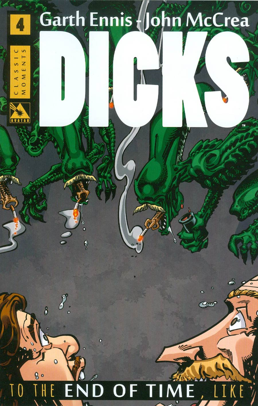 Dicks End Of Time #4 Cover C Incentive Classic Moment Cover