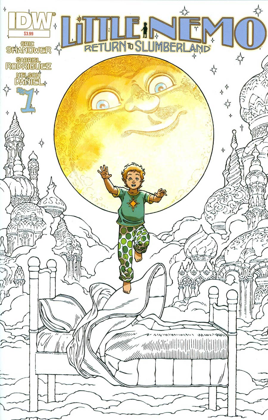 Little Nemo Return To Slumberland #1 Cover C 2nd Ptg Gabriel Rodriguez Variant Cover