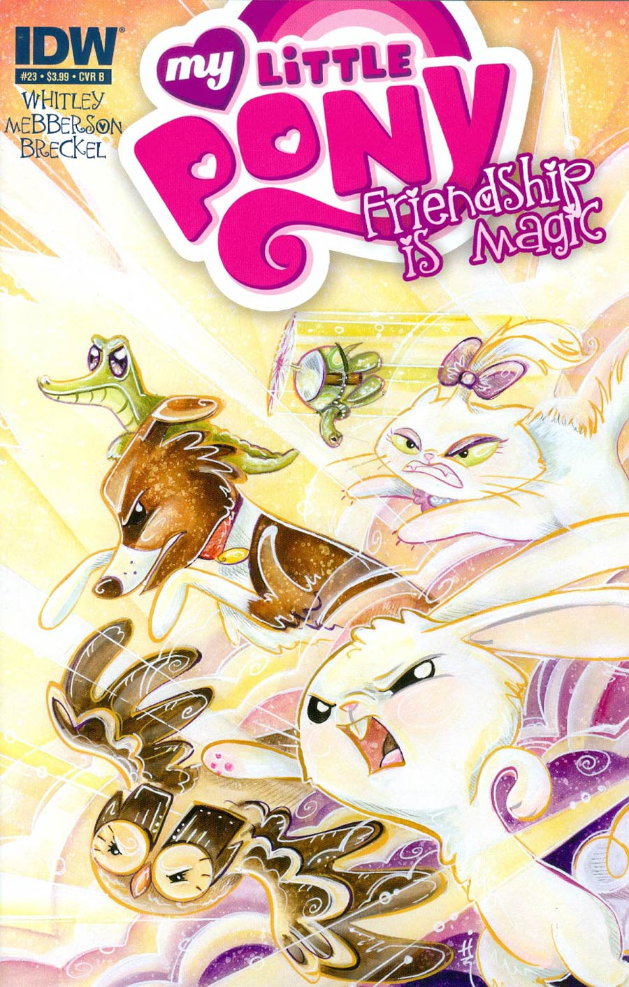 My Little Pony Friendship Is Magic #23 Cover B Regular Sara Richard Cover