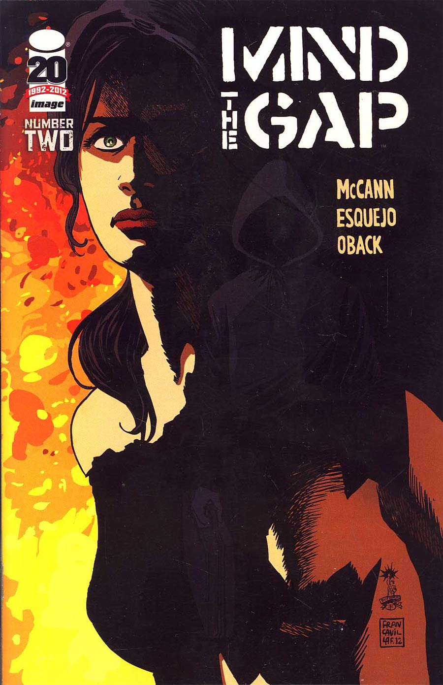 Mind The Gap #2 1st Ptg Cvr B Francesco Francavilla Recalled Edition