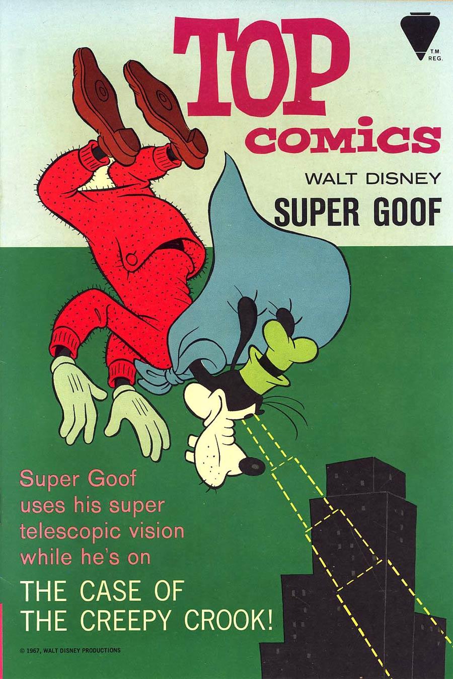 Top Comics #1 Super Goof