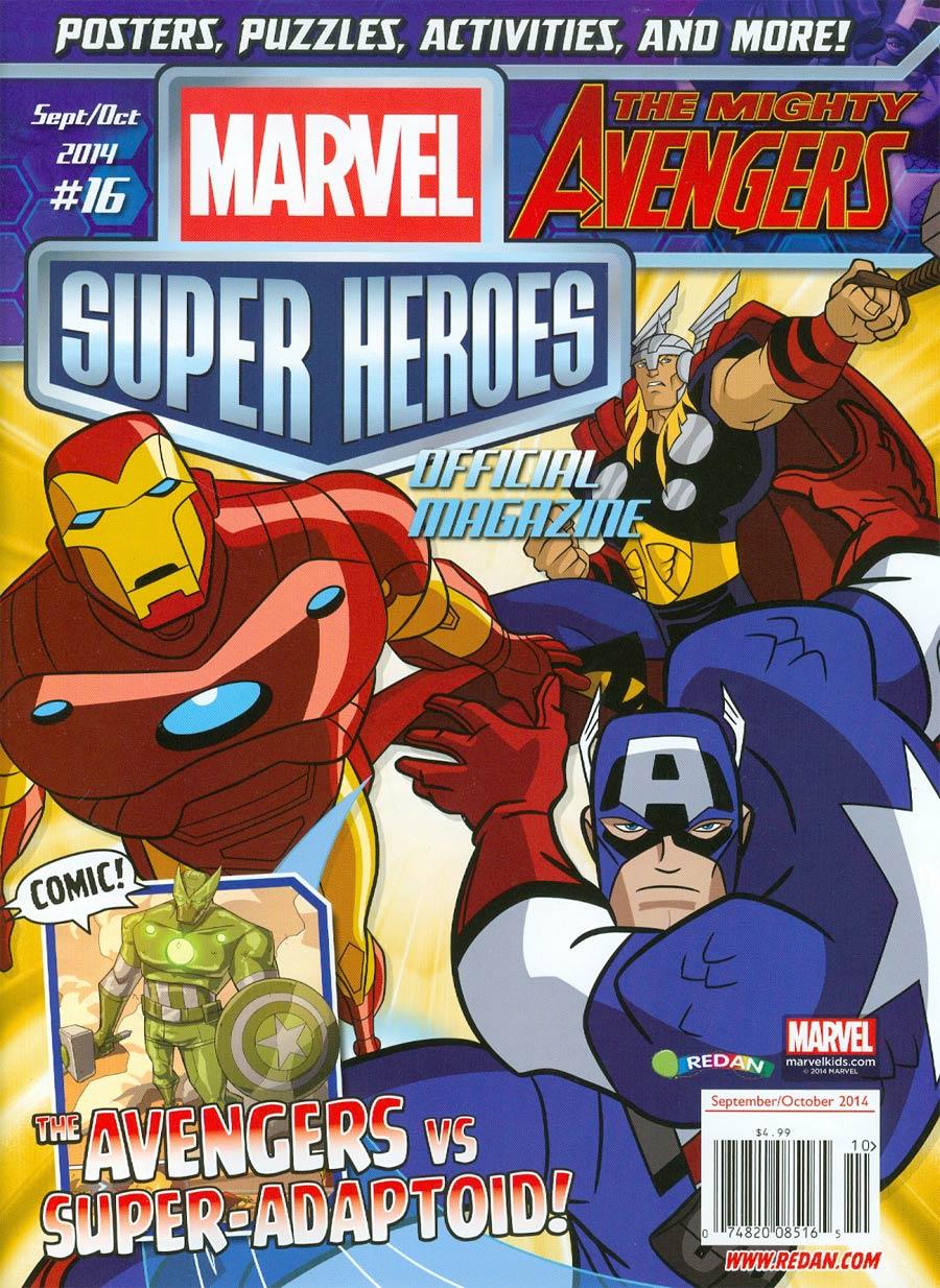 Marvel Super-Heroes Magazine #16