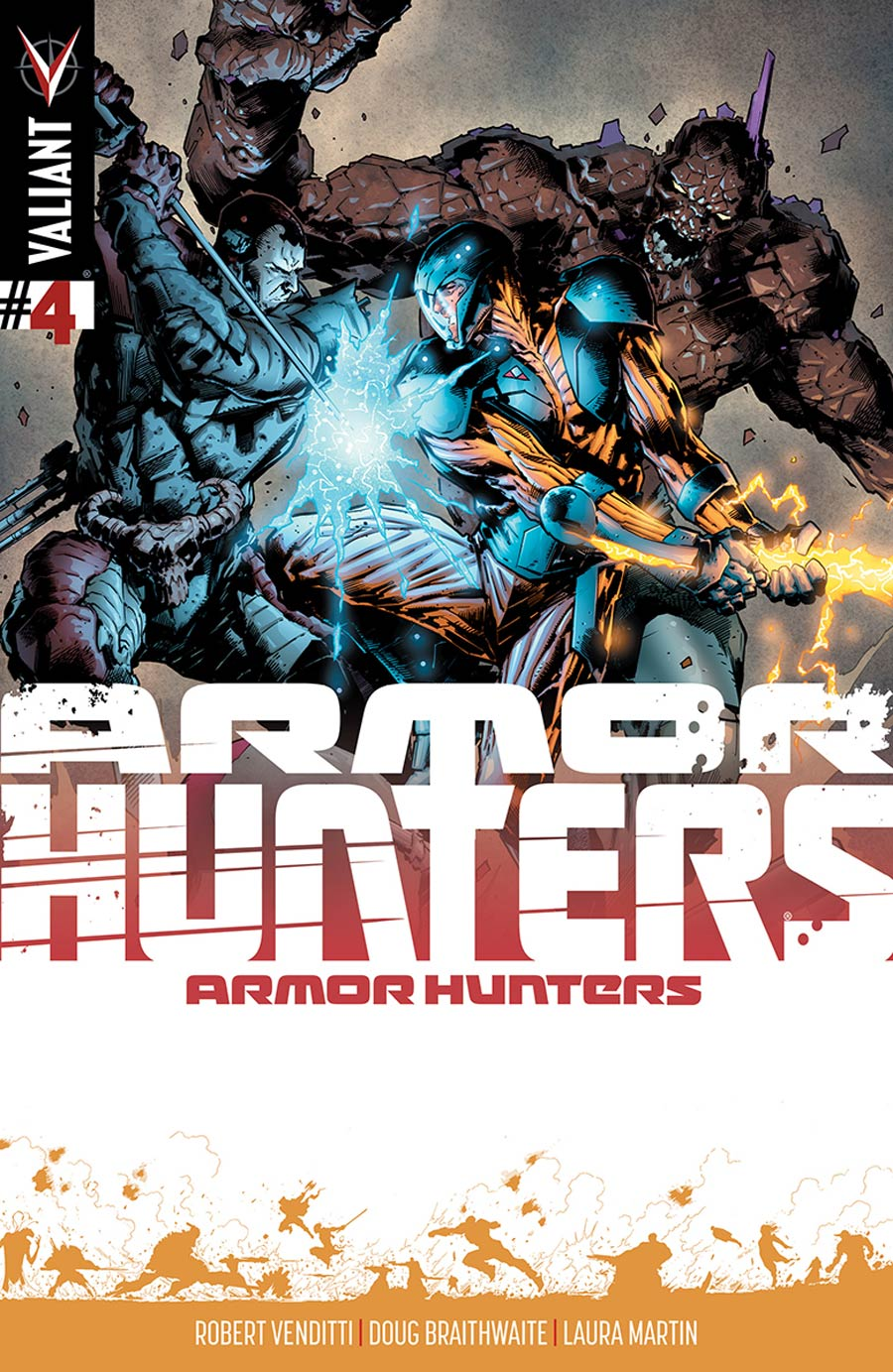 Armor Hunters #4 Cover D Incentive Trevor Hairsine Armor Hunters Variant Cover