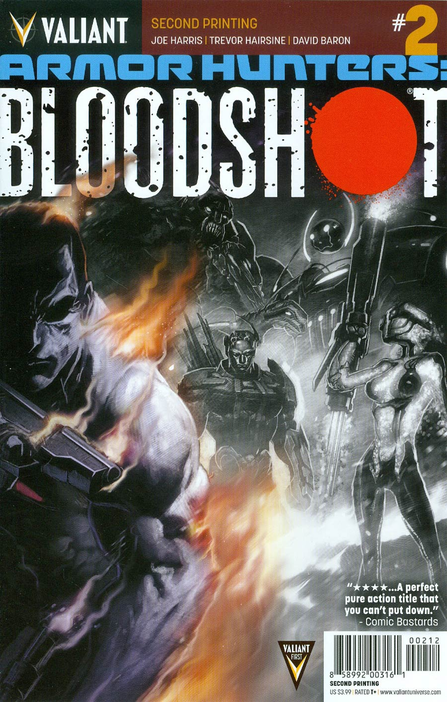 Armor Hunters Bloodshot #2 Cover D 2nd Ptg Philip Tan Cover